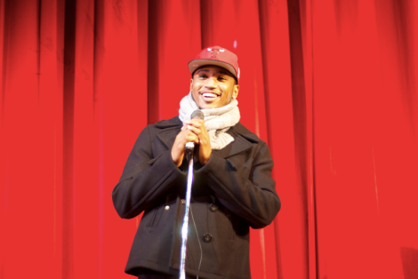 Trey Songz Speaks to Students