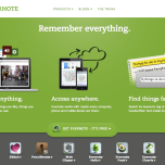 "www.evernote.com - Organizing your thoughts, ideas, and important things found on the internet has never been easier with Evernote. Adding this tool to your smartphone, browser, and computer gives you the ability to quickly recall and share websites of interest, ""napkin"" ideas, and other spur of the moment information. It even can read and organize text in images."